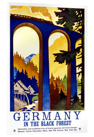 Akrylglastavla  Germany, in the black forest - Travel Collection