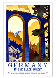 Premiumposter  Germany, in the black forest - Travel Collection