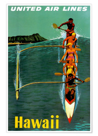 Premiumposter  Hawaii - Travel Collection