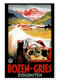 Premiumposter  Italy - Bozen-Gries Dolomites - Travel Collection