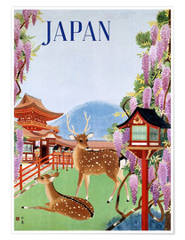 Premiumposter  Vintage Japan tourism - Travel Collection