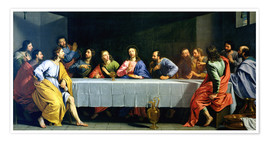 Premiumposter The Last Supper, called 'The Little Last Supper'