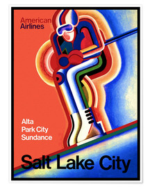 Premiumposter  Ski in Salt Lake City - Travel Collection