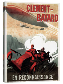 Canvastavla  Clement Bayard Automobile - Advertising Collection