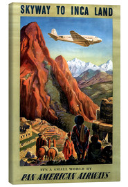 Canvastavla  Skyway to Inca Land - Travel Collection