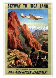 Premiumposter  Skyway to Inca Land - Travel Collection