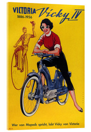 Akrylglastavla  Who's talking about mopeds, praises Vicky Victoria - Advertising Collection