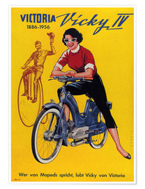 Premiumposter Who´s talking about mopeds, praises Vicky Victoria