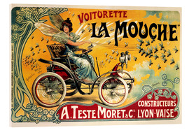 Akrylglastavla  Voiturette La Mouche - Advertising Collection