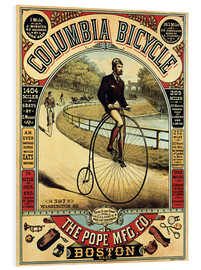 PVC-tavla  Columbia Bicycles - Advertising Collection