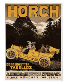 Premiumposter  Horch cars - Golly impeccable - Advertising Collection