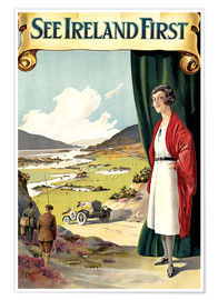 Premiumposter  see Ireland first - Travel Collection