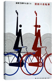 Canvastavla  Abstract bike - Advertising Collection