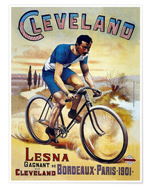 Premiumposter Cleveland Bicycles