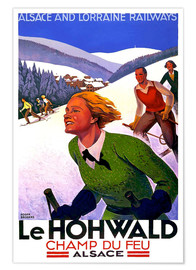 Premiumposter  Le Hohwald, Alsace - Travel Collection