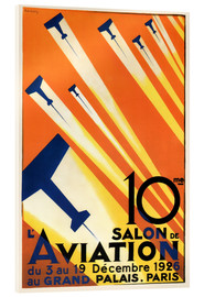 Akrylglastavla  10 Salon de Aviation - Paris 1926 - Advertising Collection