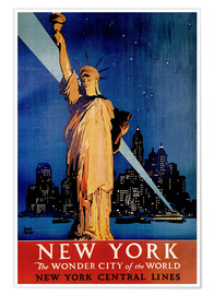 Premiumposter  New York - Travel Collection