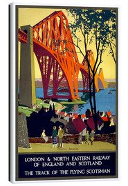 Canvastavla  Forth Bridge London Railway - Travel Collection