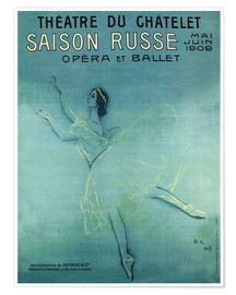 Premiumposter  Saison Russe - Opera et Ballet - Advertising Collection