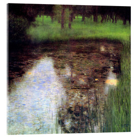Akrylglastavla  The Swamp - Gustav Klimt