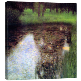 Canvastavla  The Swamp - Gustav Klimt