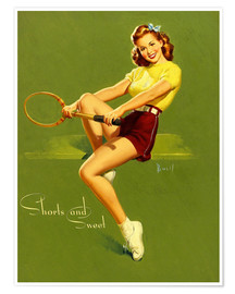 Premiumposter  Pin Up - Shorts and Sweet - Al Buell