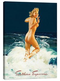 Canvastavla  Pin Up - Southern Exposure - Al Buell