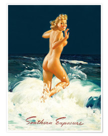 Premiumposter  Pin Up - Southern Exposure - Al Buell