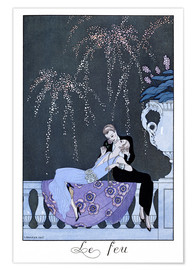 Premiumposter  The Fire - Georges Barbier