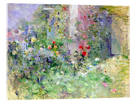 Akrylglastavla  The Garden at Bougival - Berthe Morisot