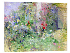 Aluminiumtavla  The Garden at Bougival - Berthe Morisot