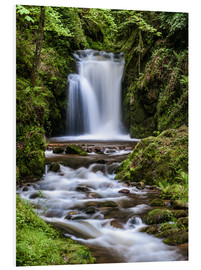 PVC-tavla  Waterfall of Geroldsau, Black Forest - Andreas Wonisch