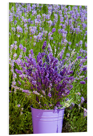 PVC-tavla  Lavender in metal bucket - Thomas Klee