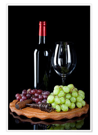 Premiumposter Wine and Grapes II