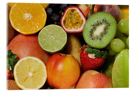 Akrylglastavla  Fruits Background - Thomas Klee