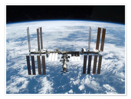 Premiumposter Space station of Space Shuttle Atlantis
