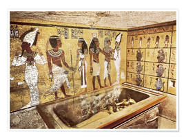 Premiumposter  Grave of Tutankhamun in the Valley of the Kings