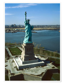 Premiumposter  Statue of Liberty in New York, 1978