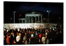 Akrylglastavla  Fall of the Berlin Wall