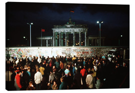 Canvastavla  Fall of the Berlin Wall