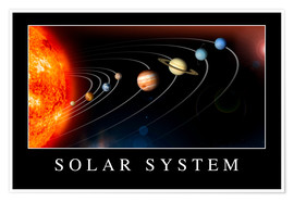 Premiumposter Solar System Poster
