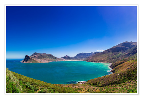 Premiumposter Hout Bay, Cape Town, South Africa