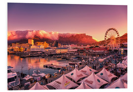 PVC-tavla  Victoria & Alfred Waterfront, Cape Town, South Africa - Stefan Becker