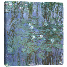 Canvastavla  Blue Water Lilies - Claude Monet
