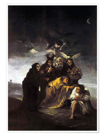 Premiumposter  The Spell, The Witches - Francisco José de Goya