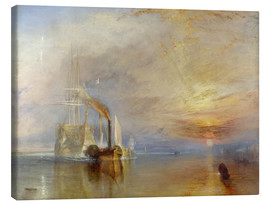 Canvastavla  The fighting Temeraire - Joseph Mallord William Turner