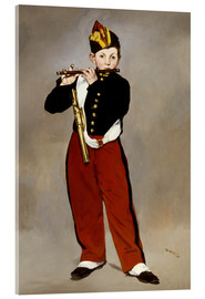 Akrylglastavla  The Fifer - Edouard Manet