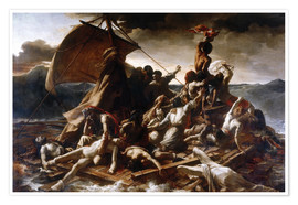 Poster  Raft of the Medusa - Theodore Gericault