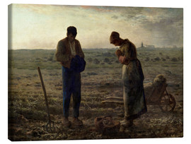 Canvastavla  The Angelus - Jean-François Millet