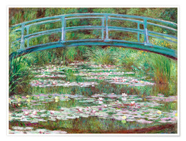 Poster  Waterlily pond - Claude Monet
